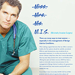 Ms. MIS: Medical Journal Print Ad Campaign for ACMI